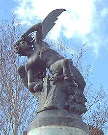 àngel caigut