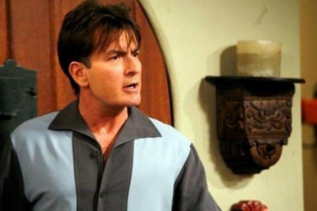 Charlie Sheen en Dos hombres y medio