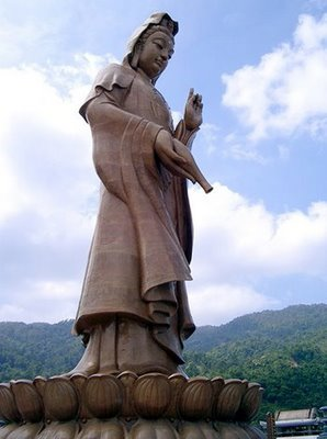 Guan Yin del templo Kek Lok Si