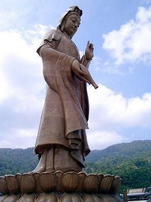Guan Yin från Kek Lok Si-templet