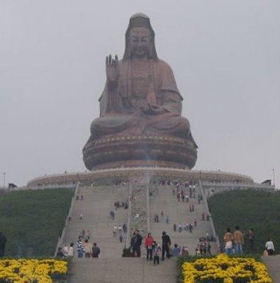 Guan Yin in Mount Xiqiao of Nanhai District