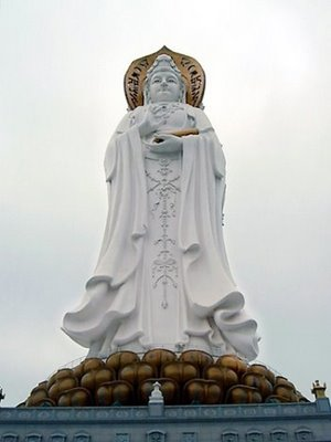 Guanyin-statyn av Hainan