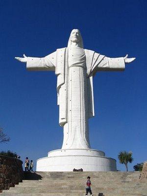 Kristus av concord av Cochabamba