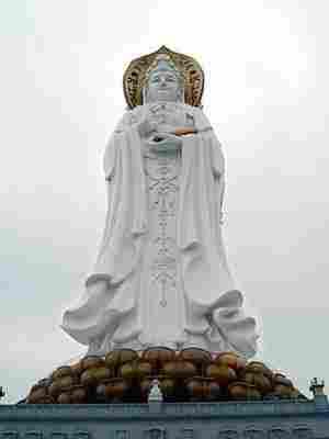 La Estatua Guanyin de Hainan