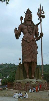 Lord Shiva of the Har-ki-Paur, Uttarakhand