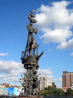 Peter den stora i Moskva