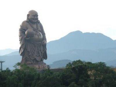 Stora Maitreya Permanent Buddha från Beipu