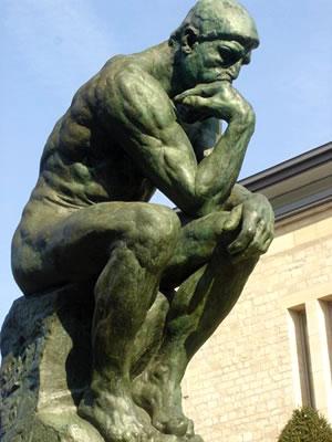 The Thinker of Rodin