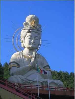 Usami Dai-Kannon da península Izu Shizuoka,