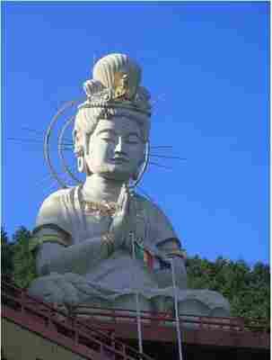Usami Dai-Kannon de la peninsula de Izu Shizuoka,