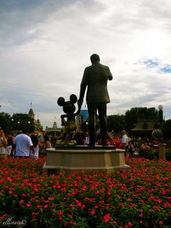 Walt Disney and Mikey Mouse