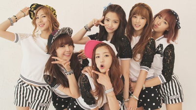 The best photos of Apink members