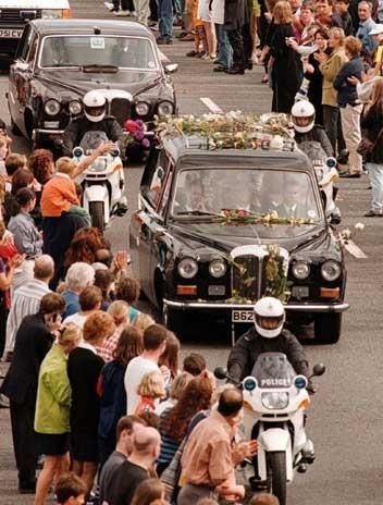 After the death of Princess Diana in 1997