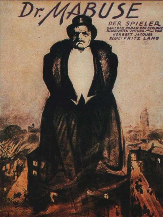 Dr. Mabuse (Dr. Mabuse, o jogador) (1922)