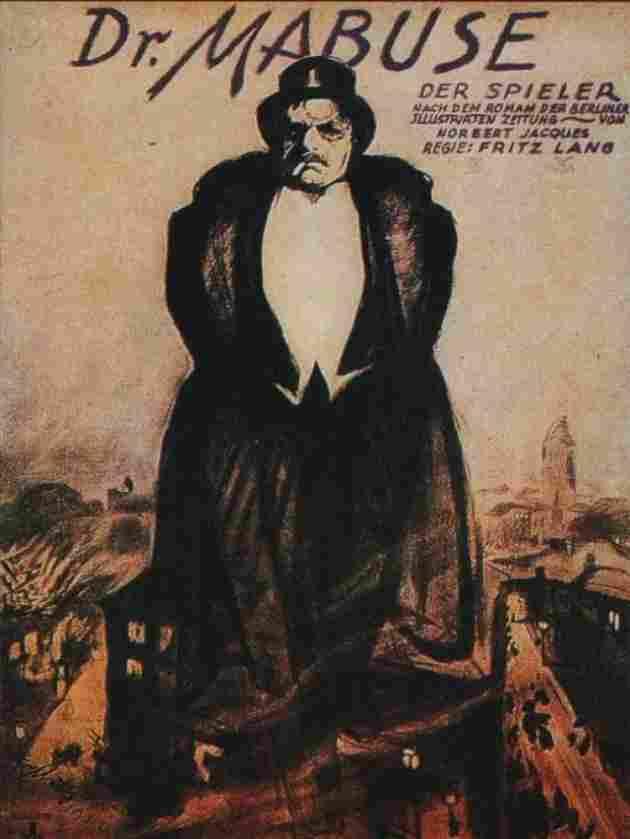 El doctor Mabuse (Dr. Mabuse, el jugador) (1922)