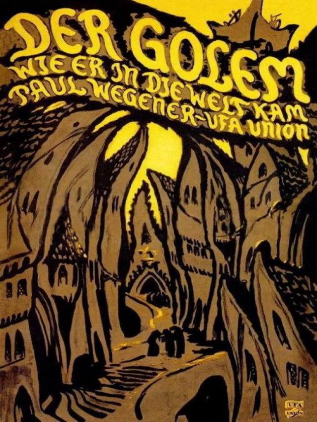 El golem (1920)