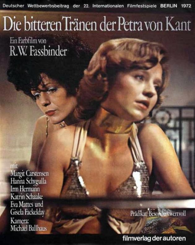 Las amargas lágrimas de Petra von Kant (1972)