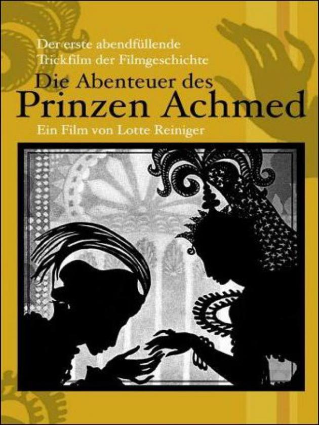 Las aventuras del príncipe Achmed (1926)