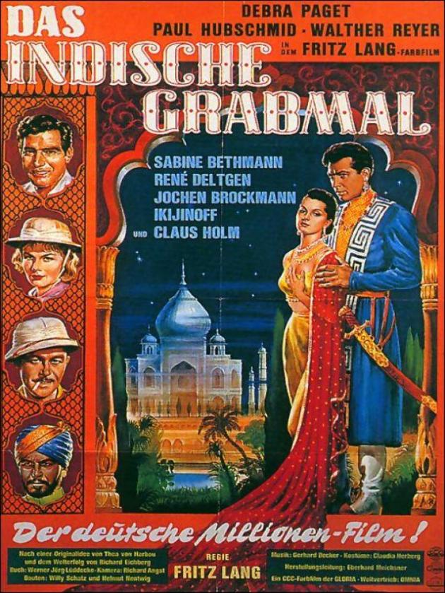 Le tombeau indien (1959)
