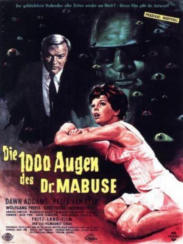 Los crímenes del Dr. Mabuse (1960)
