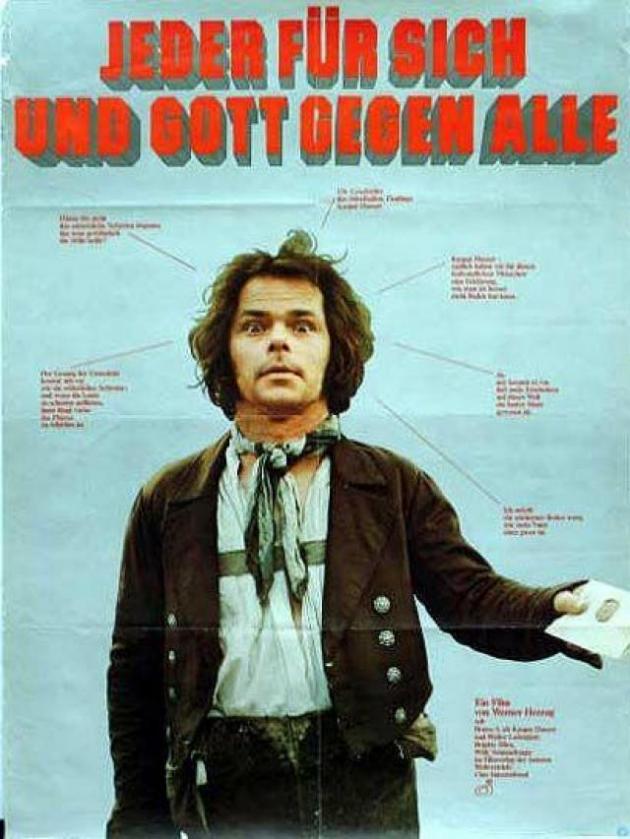 O enigma de Gaspar Hauser (1974)