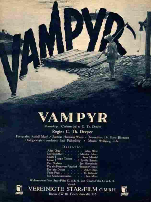 Vampyr, la bruja vampiro (1932)