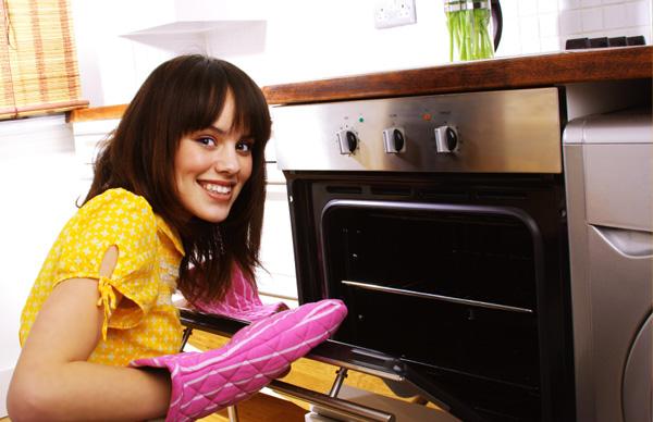 Abrir la puerta del horno lo mínimo posible