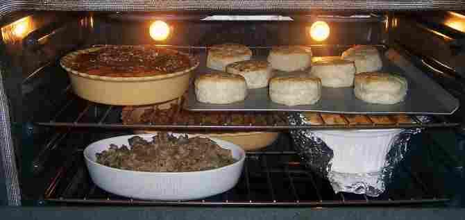 Cocinar varios alimentos al mismo tiempo