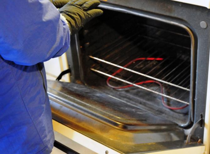 Monitore o estado do seu forno