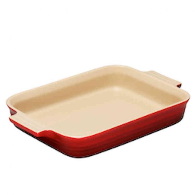 Use ceramic or glass trays