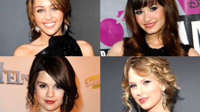 As melhores atrizes do Disney Channel