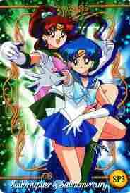 Sailor Jupiter and Sailor Mercury