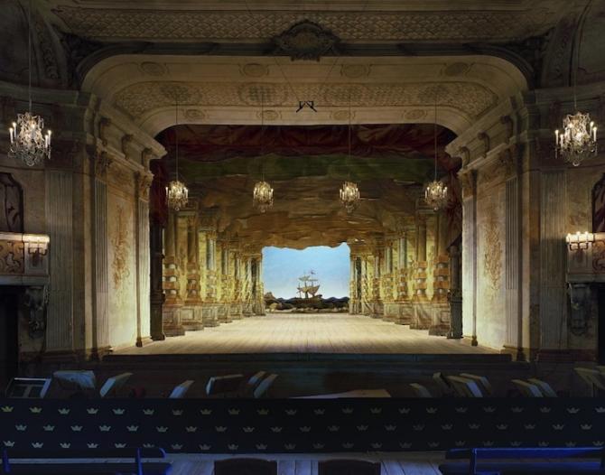 Théâtre de palais de DROTTNINGHOLM (Stockholm)