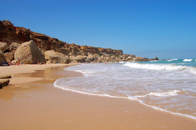 La Barrosa strand