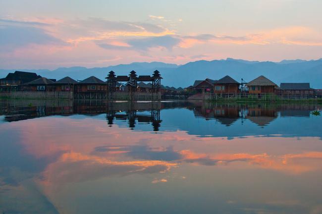 Lac Inle Sky (Myanmar)