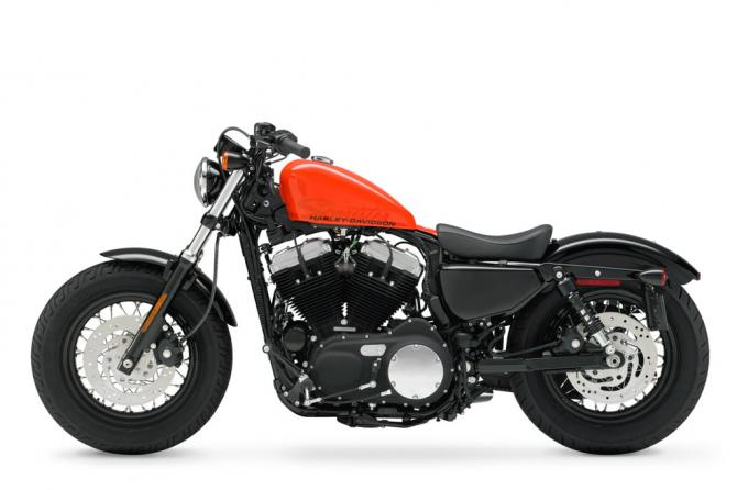Harley Davidson achtundvierzig