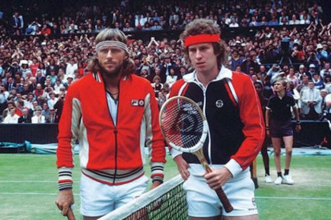 John McEnroe-Bjorn Borg (US Open 1990)