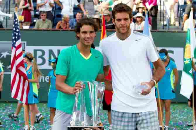 Nadal - Del Potro (Indian Wells 2013)