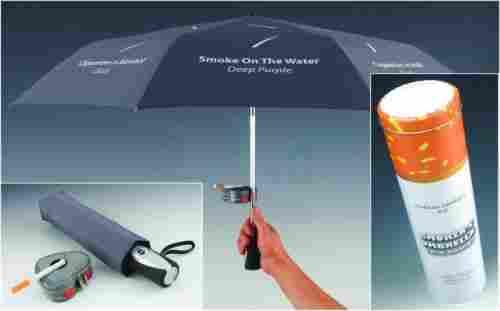 Paraguas para fumadores