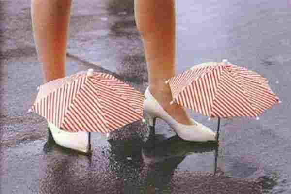 Paraguas para zapatos