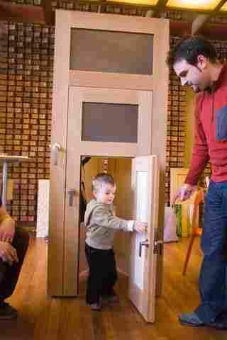Puerta para todas las edades