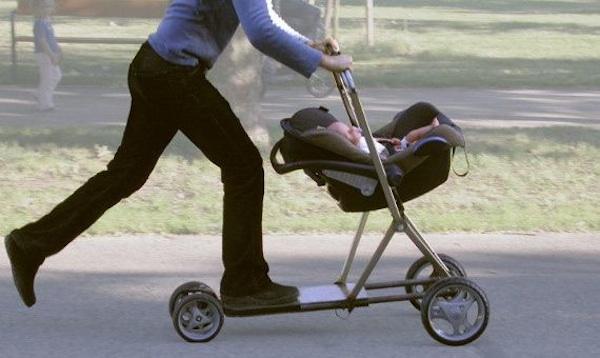 Scooter Barnvagn