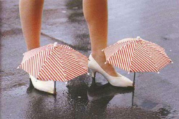 Umbrella for shoes