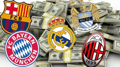 Các đội có giá trị nhất trên thế giới