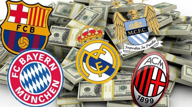 Los equipos más valiosos del mundo