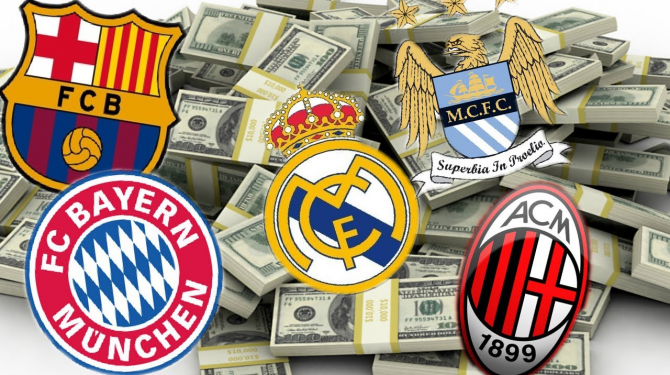 Pasukan paling berharga di dunia