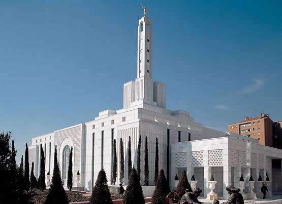 Храм в Мадриде Испания (мормон)