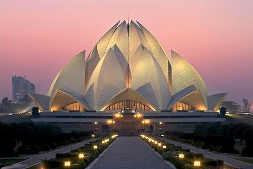Temple del Lotus (fe Bahá'í)