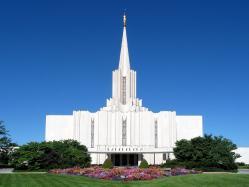 Temple of Jordan River Utah (Mormon)