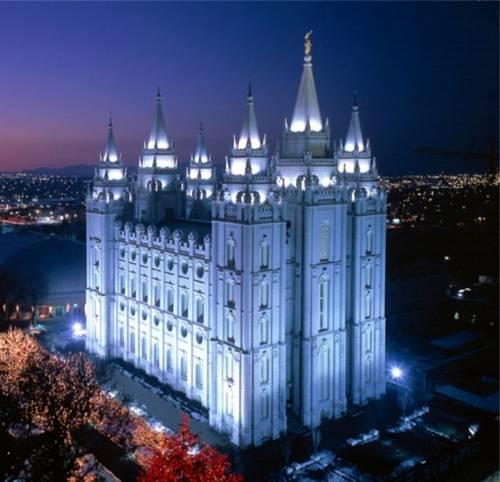 Temple of Salt Lake City USA (Mormon)